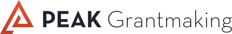 Peak Grantmaking logo